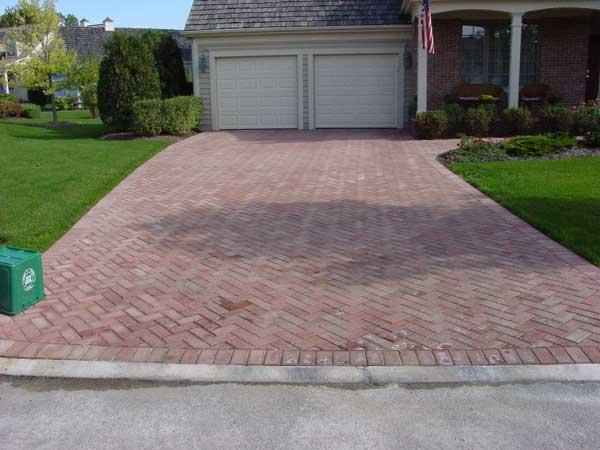 Lake County Il Brick Paver Driveway 1 Gravel Driveway