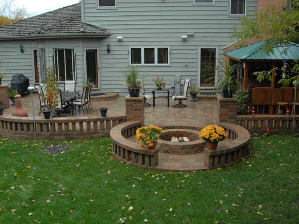 ... Russels And Old Quarry Prairie Patio And Fire Pit ...